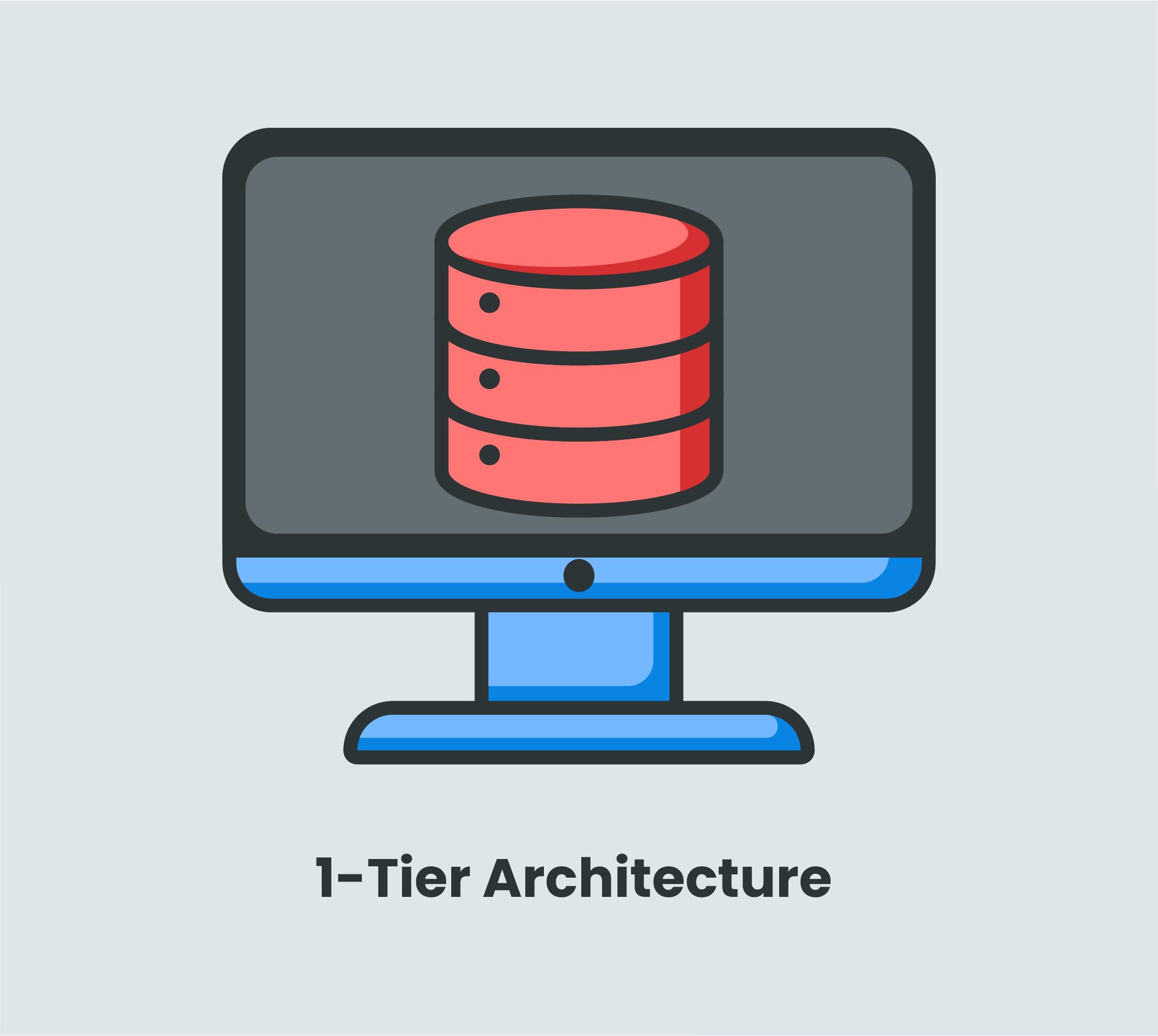 1-tier architecture
