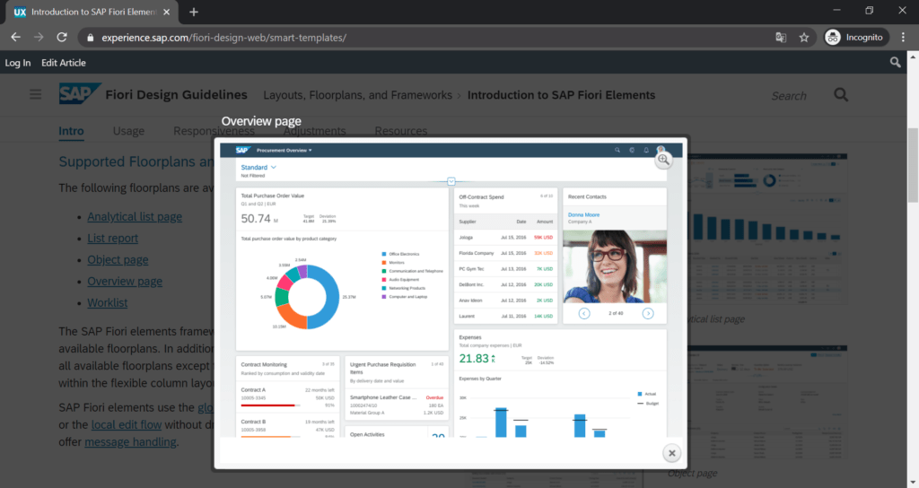sap_fiori_elements_overview_page_screenshot