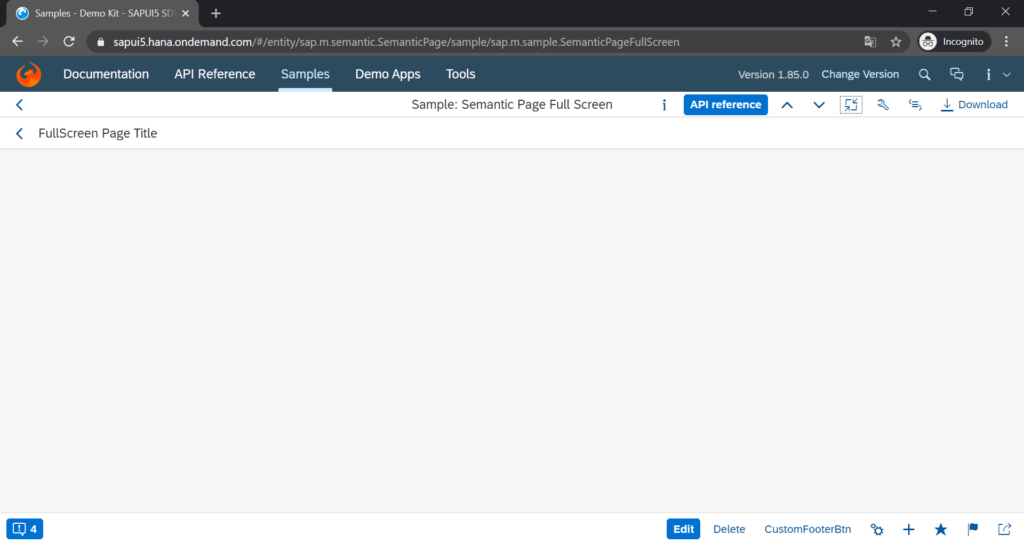 sapui5_semantic_page_control_screenshot