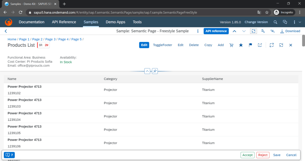 sapui5_semantic_page_f_control_screenshot